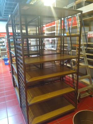 8ftx5ft x39,, deep bamboo shelving for Sale in Fort Collins, CO
