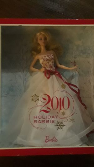 2010 holiday Barbie- limited edition for Sale in Tampa, FL