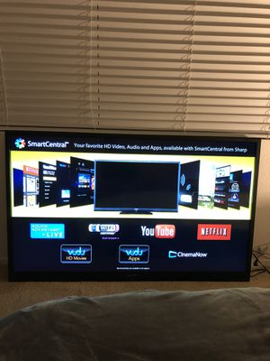 60 inch , Huge Sharp Aquos Smart Tv , WiFi , Class LED Smart Tv for Sale in Tustin, CA