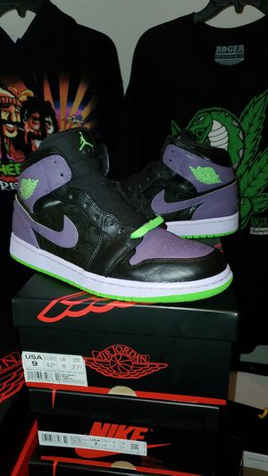 AIR JORDAN 1 RETRO NIGHT VISION JOKER for Sale in Dallas, TX