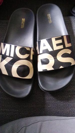Michael kors slides for Sale in Hamilton, OH