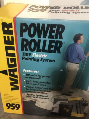 Wagner Power roller 959 painting system for Sale in Albuquerque, NM