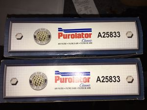 Purolator Classic Air Filter A25833 Hyundai Santa Fe 3.3 V6 for Sale in Youngstown, OH