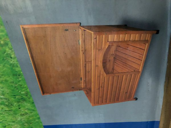 Trixie flat roof dog kennel (large)