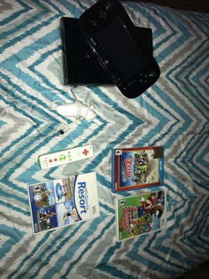 Nintendo Wii U with Games/Accessories for Sale in Milton, MA