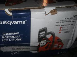 Husqvarna 16inch blade 435e brand new chainsaw for Sale in Fresno, CA