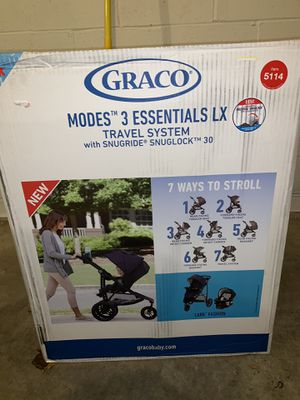 Graco Mode 3 Essentials LX travel system brand new for Sale in Stafford, VA