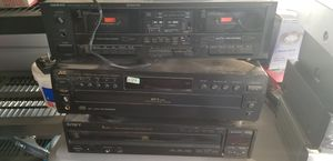 Jvc, Sony, Onkyo Tape Deck Cd Changers for Sale in Fresno, CA