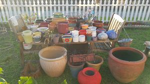 Planter pots - All different sizes priced $5 - $50 for Sale in San Diego, CA