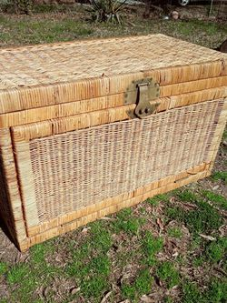 Wicker Storage Chest for Sale in Durham,  NC