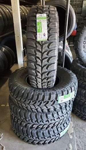 285/75/16 LT new mud tires for $695 with balance and installation We also finance {contact info removed} Dorian 7637 airline dr houston TX 77037 for Sale in Houston, TX