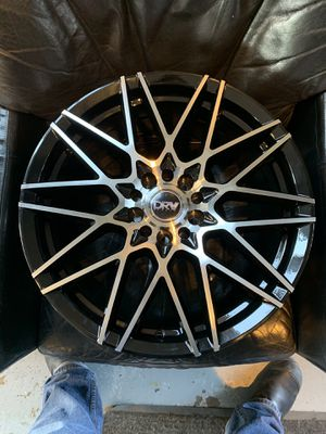 BRAND NEW 18x8 DRW RIMS BLK WITH MACHINE FACE for Sale in El Cajon, CA