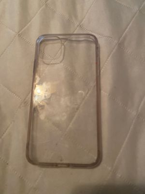 iPhone 11 clear case for Sale in Clarksville, TN