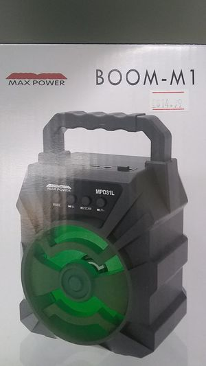 Max Power Boom M1 for Sale in Durham, NC