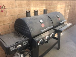Char grilled bbq and smoker for Sale in Corona, CA