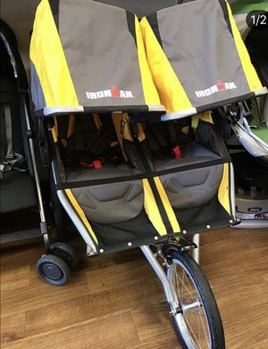 BOB IRONMAN double jogging stroller for Sale in Laguna Hills, CA