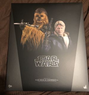 Han Solo and Chewbacca Set Hot Toys set for Sale for sale  Queens, NY