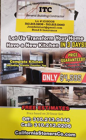 Kitchen and Cabinetes for Sale in Los Angeles, CA