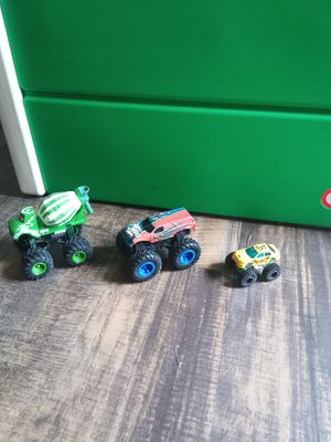 3 monster trucks for Sale in Matthews, NC