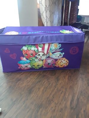 Shopkins nylon toy box for Sale in Bradenton, FL