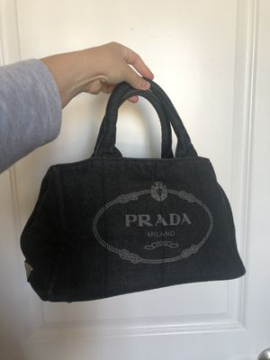 Prada Canapa tote bag denim for Sale in Sunnyvale, CA