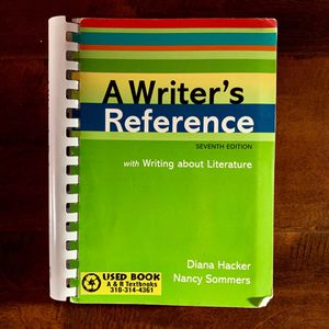 A Writer's Reference Seventh Edition for Sale in Los Angeles, CA