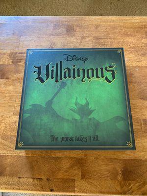 Disney Villainous board game for Sale in Whittier, CA
