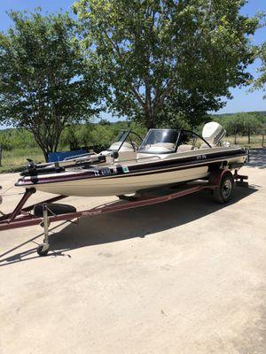 1998 18ft Sprint Fish and Ski boat for Sale in Rio Medina, TX