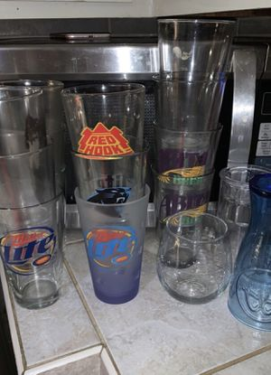 Pint glasses and coffee mugs for Sale in Lucama, NC
