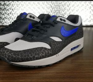 Nike Air Max 1 SE Reflective Safari Off Noir Hyper Blue SZ 10.5 ( BQ6521-001 ) for Sale in Lancaster, CA