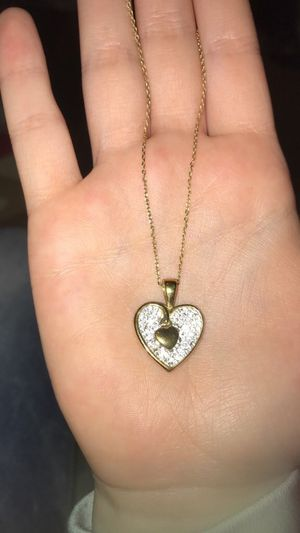 Silver heart necklace for Sale in Washington, IL