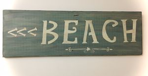 Wooden beach sign for Sale in Lehigh Acres, FL