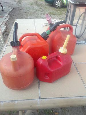 4 tank gas for Sale in Fort Pierce, FL