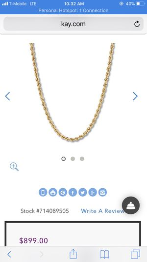 Gold 14k Necklaces for Sale in Kingsport, TN