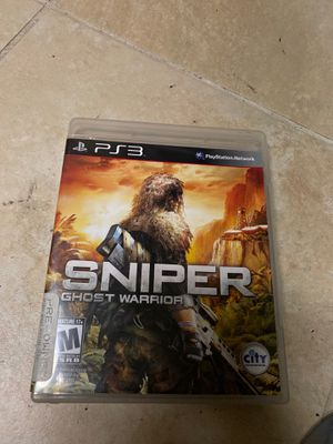 PS3 Sniper Ghost warrior for Sale in Boca Raton, FL