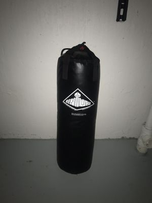 Century leather punching bag for Sale in Saginaw, MI