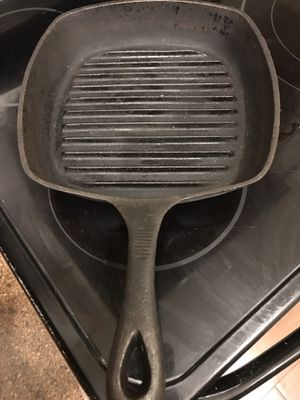 Emeril Square Cast Iron Grill Pan for Sale in Gibsonton, FL