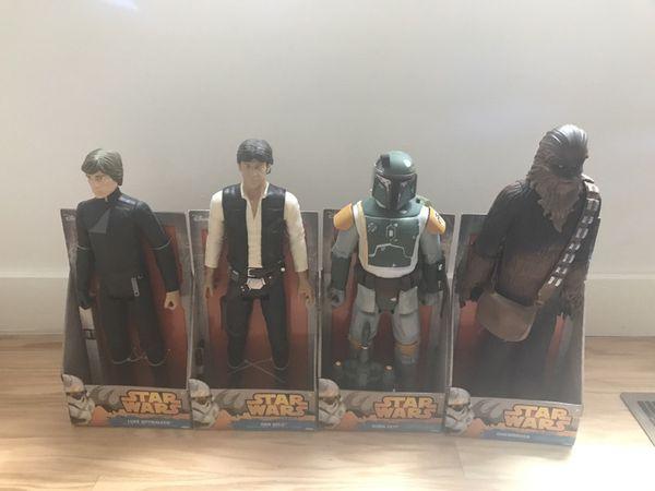 Brand new Star Wars action figures