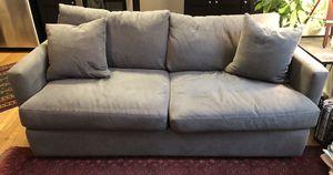 Wayfair Madison lounge sofa is Capri Dove gray for Sale in Washington, DC