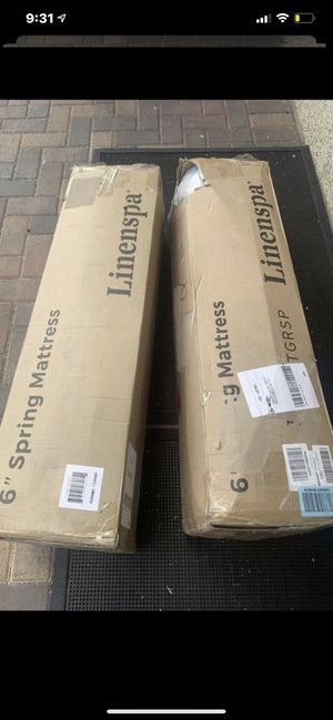 "6"" twin spring mattress for Sale in Las Vegas, NV"