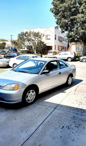 Honda civic 2001 clean title manual transmission for Sale in Culver City, CA