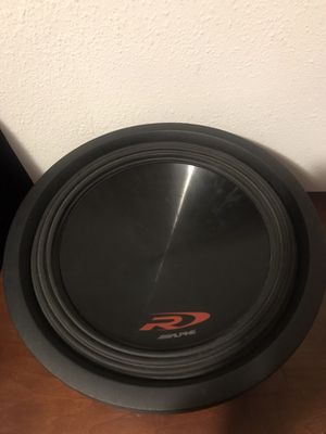 Alpine SWR – 12D2 subwoofer speaker for Sale in Seattle, WA
