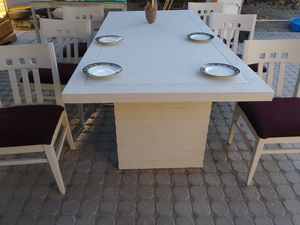 Table with chairs for Sale in San Bernardino, CA