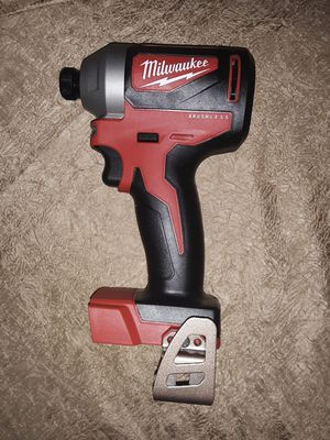 NEW MILWAUKEE M18 BRUSHLESS 1/4 IMPACT DRIVER TOOL for Sale in Glendale, AZ