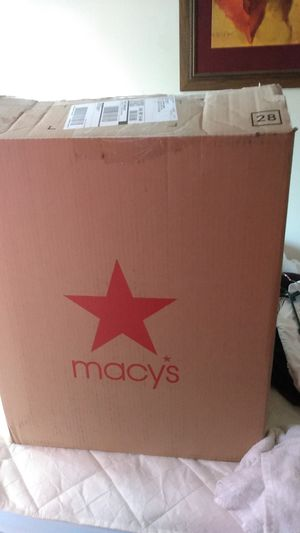 Macy bed set for twin size still in box (perfect gift) for Sale in Seattle, WA