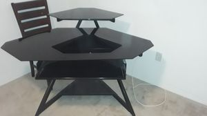 Glass corner desk for Sale in St. Petersburg, FL