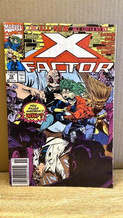 X-Factor Volume 1 Vol#72 Marvel 1986 X-Men for Sale in San Angelo,  TX