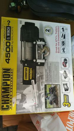 Champion winch new in box for Sale in Chicago,  IL
