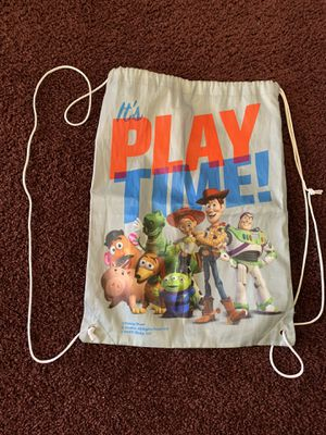 Disney Toy Story Travel Bag Perfect For Your Kids Toys for Sale in Pomona, CA