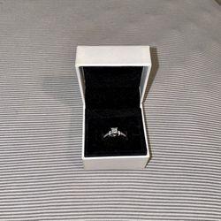 1 CT. T.W. Quad Princess-Cut Diamond Bridal Set in 14K White Gold for Sale in Southgate,  MI